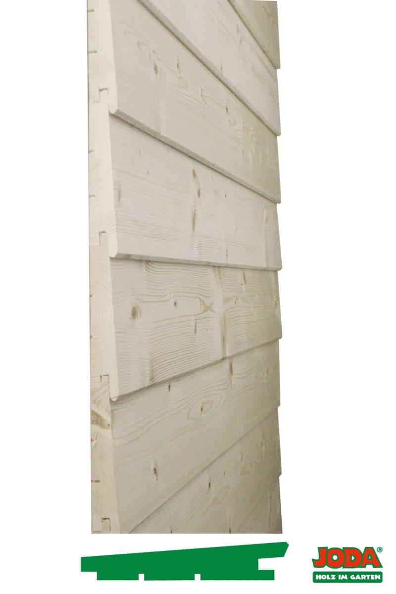 Fassadenprofil gehobelt,Fichte naturbelassen