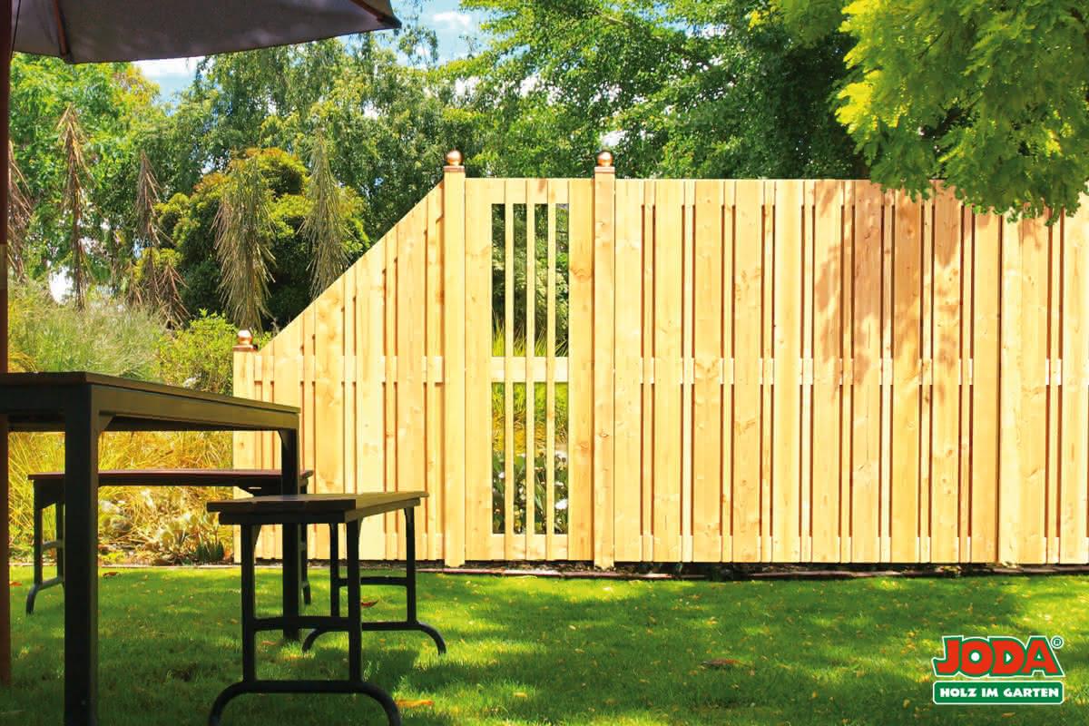Sichtschutzzaun Fur Terrasse Und Garten