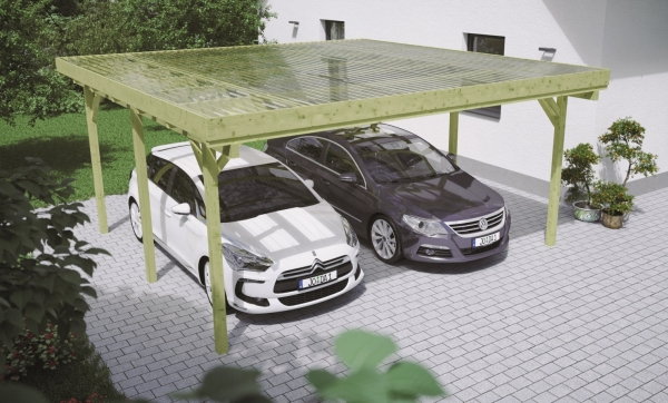 Carports zum günstigen Aktionspreis. Carport Bausatz.